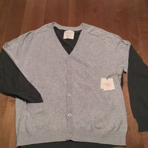 Five Four Nick Wooster button sweater XL
